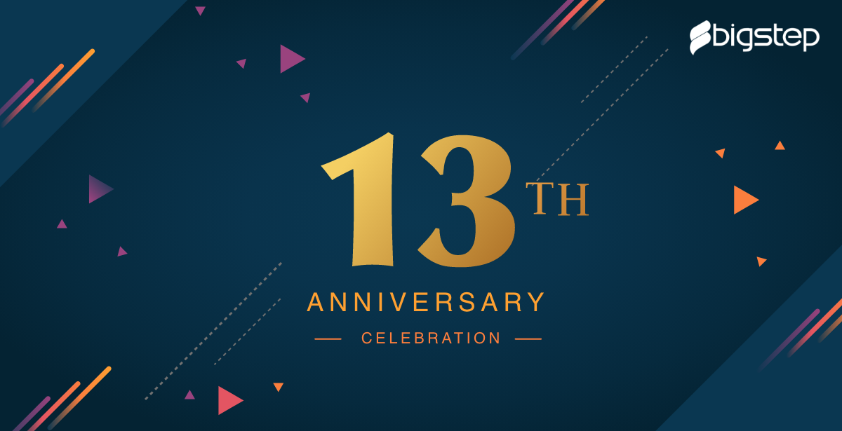 Celebrating 13 triumphant years of continuous success!